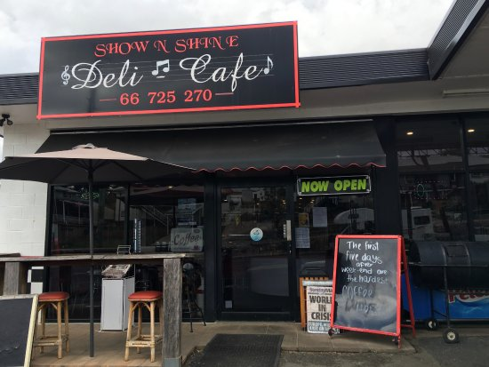 Show  Shine Deli Cafe - Accommodation Broken Hill
